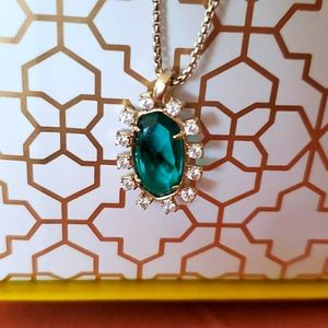 Brand new Kendra Scott Brett Necklace Emerald